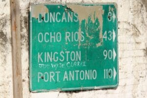 Real Time OCR - road sign