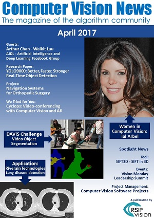 Computer Vision News - April 2017