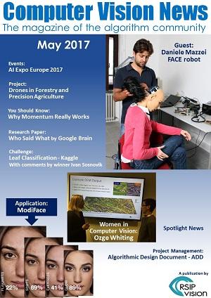 Computer Vision News - May 2017