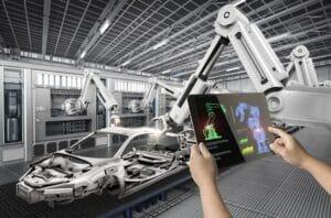 Human control 3D-rendering robot