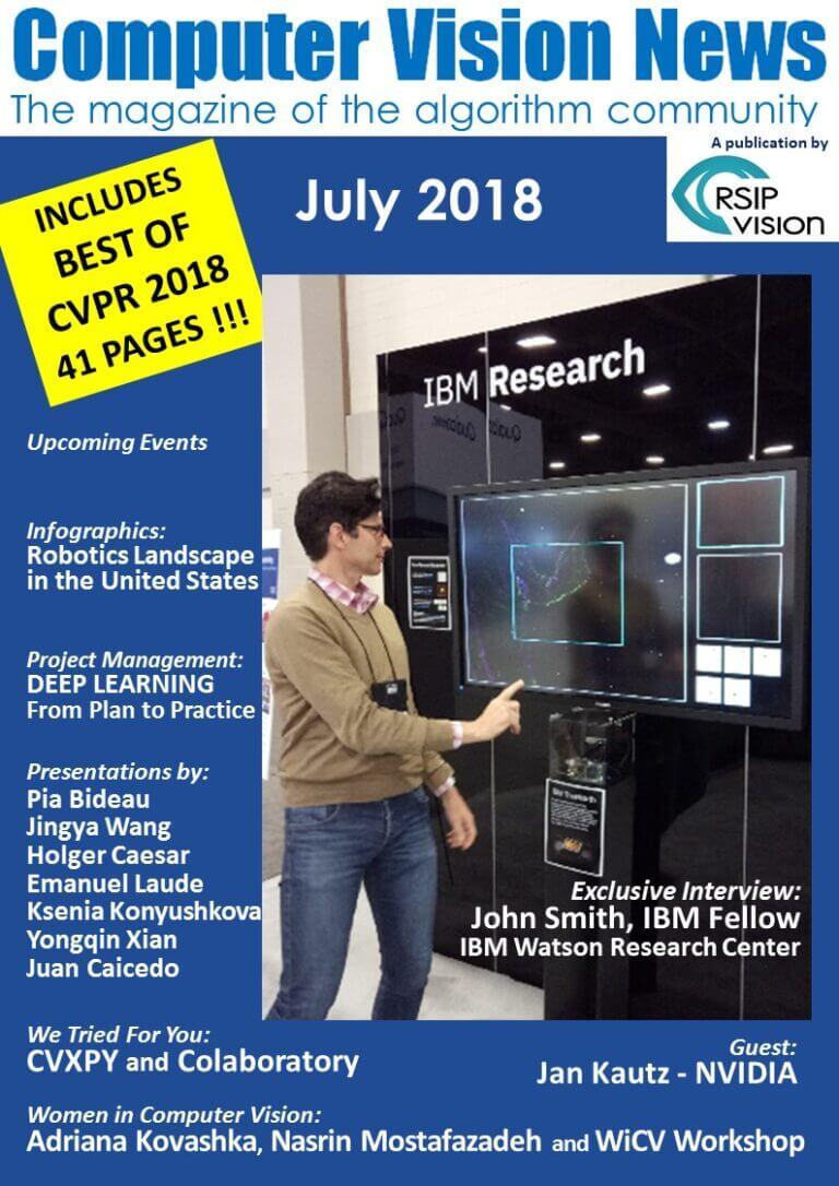 Computer Vision News - July 2018