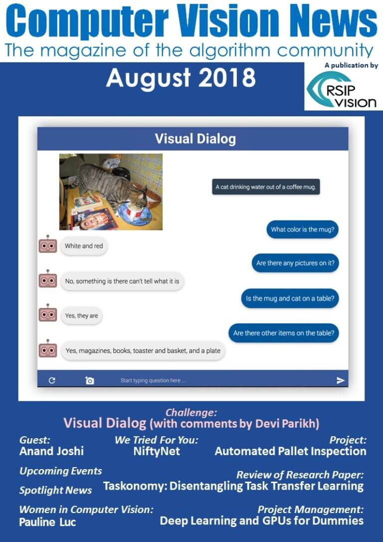 Computer Vision News - August 2018