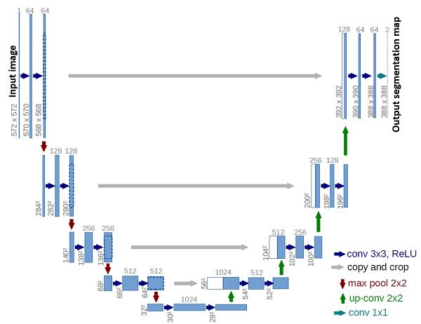 U-Net network architecture