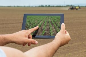 Agricultural Yield Prediction on tablet