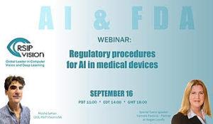 Regulatory FDA webinar